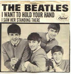 The Beatles.... 45 record. I Want To Hold Your Hand.
