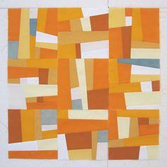Julie Owens - improv quilt-- I love how modern this looks