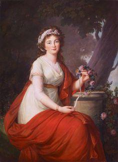 Elisabeth Vigée Le Brun :  Princesse Youssoupoff, 1797