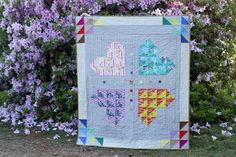Brokenfull Heart, hand quilted | by StitchedInColor