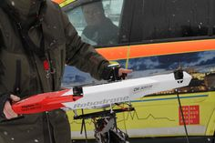 Robodrone Kingfisher test flight for Mountain Rescue | Flickr - Photo Sharing!