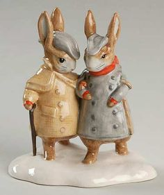 Royal Doulton Beatrix Potter Figurines | ROYAL DOULTON BEATRIX POTTER BP-11 at Replacements, Ltd