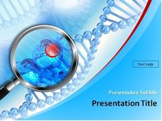 Animated Genetics  Dna  Medical Powerpoint Template  Genetics