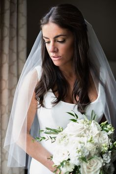 Connecticut Wedding and Event Florist Mansion, Floral Wedding, Mystic, Florals, One Shoulder Wedding Dress, Coastal, Bridal, Wedding Dresses, Blue