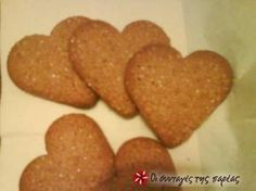 Sweets Recipes, Wine Recipes, Dog Food Recipes, Cookie Recipes, Desserts, Biscuit Cookies, Cake Cookies, Greek Cake, Greek Sweets