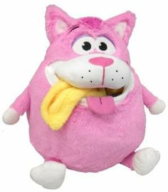 Amazon.com: Tummy Stuffers Pink Cat Plush Toy: Toys & Games