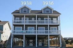 Island Drive 3938 | Oceanfront Vacation Rental | N. Topsail Beach NC