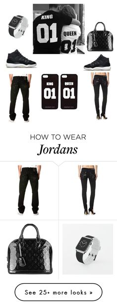 """""""Untitled #90"""" by dymondarrington on Polyvore featuring NIKE, Louis Vuitton and Casetify"""