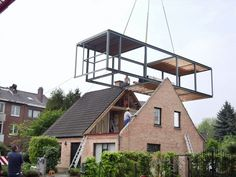Architecture Discover Creëer meer ruimte onder uw dak aanpassen en meer woonruimte creëren - pinned by Bungalow Extensions, House Extensions, Container Architecture, Architecture Design, Architecture Colleges, Architecture Awards, Architecture Student, Architecture Definition, Computer Architecture