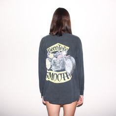 1992 Camel Cigarettes Born To Be Smooth Long Sleeve Promo T Shirt by BadBrainsVtg on Etsy