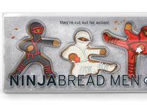 La galleta de gengibre en forma de hombrecito ya fue...que les parece en forma de Ninjas!!!???
