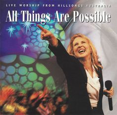 Hillsong Australia All Things Are Possible CD 1997 Darlene Zschech #Christian
