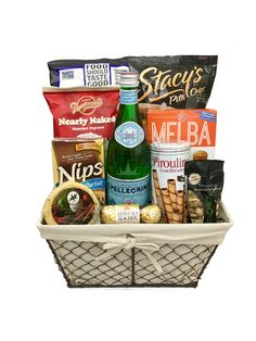The gluten free gourmet snacks gift basket is available for same day gourmet goodies gift basket negle Image collections