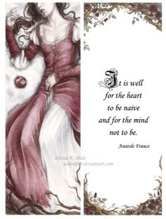 Snow White Bookmark by Achen089.deviantart.com on @deviantART