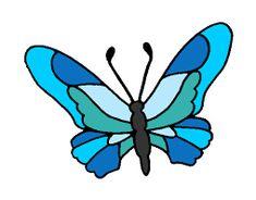 risultati immagini per disegni di farfalle colorate da