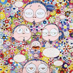 Le fameux artiste contemporain japonais Takashi Murakami nous offre aujourd'hui une bonne dose de couleur et de fraicheur grâce à son...