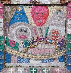 Wealthy Outsider Artist With >> 8 Best Simon Sparrow Images Outsider Art Assemblage Art The