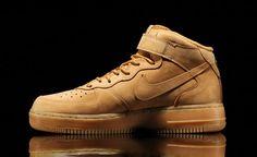 Nike Air Force 1 Mid Wheat - Date de sortie - Release date 5a9d162068227