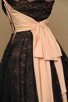 Vintage Original Bombshell Dress by bellejarvintage on Etsy, $425.00