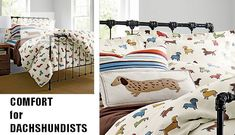 The Long and Short of it All: A Dachshund Dog News Magazine: Keep Warm This Winter With Your Own Dachshund Flannel Sheets!
