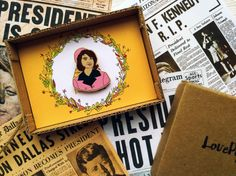 Jacqueline Jackie Kennedy Onassis wooden pin First by LovePyramid