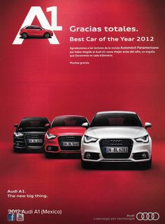 2012 AUDI A1 - Mexico by Michael on Flickr Audi A1, Ads Creative, Creative Advertising, Marketing Strategy Examples, Newspaper Design Layout, Car Banner, Ad Layout, Ad Car, Auto Design