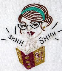 sexy librarian - sublime sticthing