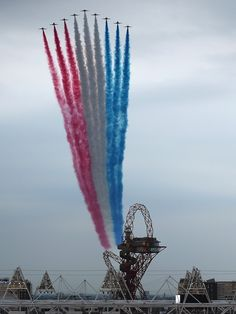 Red Arrows, London 2012.