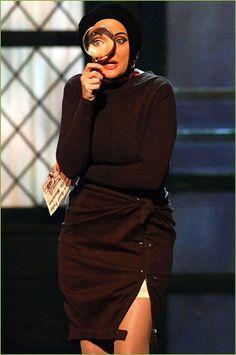 Tony Award-nominee Christine Ebersole (Grey Gardens) at a rehearsal for the 2007 Tony Awards.  Photo: Anita and Steve Shevett