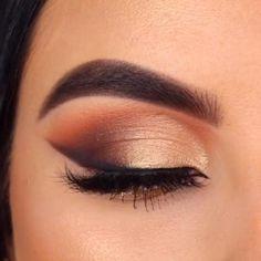 Black Smokey Eye Makeup, Natural Smokey Eye, Hazel Eye Makeup, Eye Makeup Steps, Eye Makeup Art, Makeup For Brown Eyes, Skin Makeup, Eyeshadow Makeup, Natural Brown