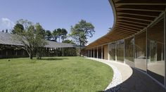 Villa in Giappone tra Linee curve e legno. Nuovi spazi in equilibrio   LegnoOnWeb