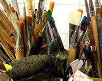 schilderworkshop Hijstoren Lemmer. www.leveninfriesland.com