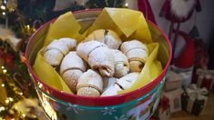 Croatian recipes: Kiflice bring back fond memories from my childhood. Mama would make them & my brother, and I would hoover them down instantly. Sweet Cookies, Sweet Treats, Kiffles Recipe, Kiflice Recipe, Croation Recipes, Eastern European Recipes, Crescent Recipes, Chocolate Slice, Serbian Recipes
