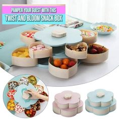 Gadgets And Gizmos, Cool Gadgets, Diy Crafts Videos, Diy Crafts For Kids, Fun Crafts, Organizer Box, Plate Storage, Glass Repair, Fruit Plate
