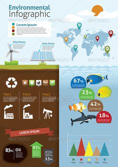 Buy Environmental Infographics by VectorCat on GraphicRiver. Environmental and ECO concept infographic It contains beautiful green icons, lovely and professional. AI and EPS CS (. Chart Infographic, Infographic Templates, Edit Font, Infographics Design, Computer Icon, Ai Illustrator, Vector Shapes, Green Nature, Solar Power