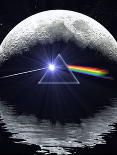 Pink Floyd - The Dark Side of the Moon I bought this ornament for Miles for our tree.we saw the wall and Brit Floyd . Art Pink Floyd, Great Bands, Cool Bands, Darkside, The Dark Side, We Will Rock You, Gif Animé, Rock Legends, Everything Pink