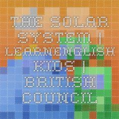 The solar system quiz.