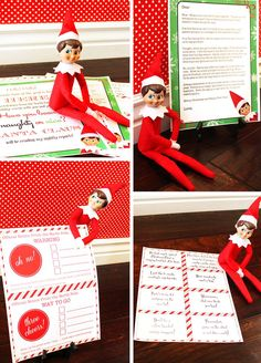 Elf on the Shelf printables will add a vibrant pop of color and excitement! With welcome greeting, notes, a goodbye letter, and more, we've got you covered.