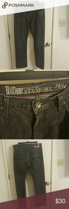 TOMMY HILFIGER JEANS Excellent condition. Worn very lightly and casually as a teacher's aide in a high school classroom. Tommy Hilfiger Jeans Straight
