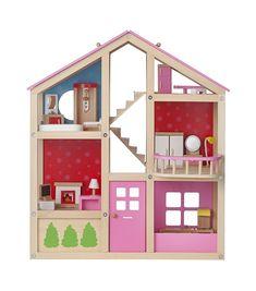 HEMA houten poppenhuis – online – altijd verrassend lage prijzen!