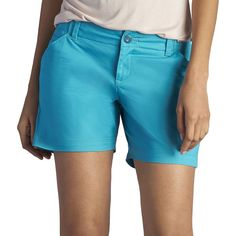 Women's Lee Essential Chino Shorts, Size: 8 - regular, Turquoise/Blue (Turq/Aqua)