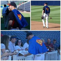 A fan made Freddie the Superman Cape...