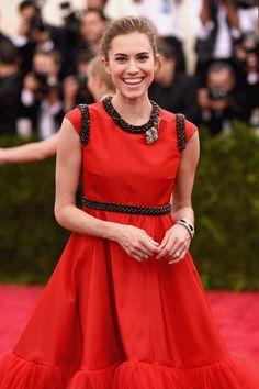 Pin for Later: Zoom Sur Tous les Beauty Looks du Met Gala Allison Williams