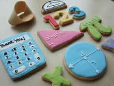 maths cookies