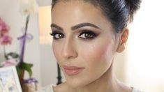 wedding makeup tutorial for brown eyes - YouTube