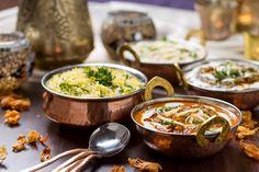 Indian Cuisine at Mehndi Restaurant Biryani, Korma, Indian Food Recipes, Asian Recipes, Garlic Recipes, Indian Snacks, Comida India, Tandoori Masala, Indian Street Food