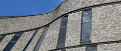 horizontal facade brick - Google Search