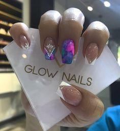 Glow Nails, Nail Designs, Nail Polish, Nail Art, Beauty Nails, Work Nails, Polish Nails, Decorations, Nautical Nails