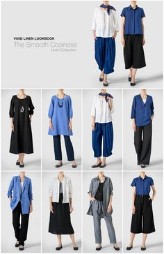 VIVID LOOKBOOK - The Smooth Coolness  Shop Online : www.vividlinen.com/feature