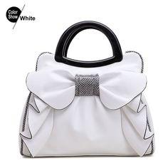 Women bags shoulder RoyaDong 2016 Brand Top-Handle Bags Womens Handbags Bow  Flowers Luxury Women Bags Shoulder Bag Ladies Summer Hand Bag c0f499909c